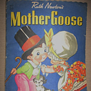 SALE Ruth Newton Illustrated Mother Goose Book for Kids
