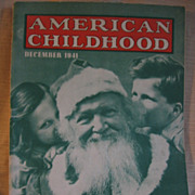 SALE 1940s American Childhood Magazine for the Primary Teacher