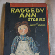 SALE 1918 Raggedy Ann Stories by Johnny Gruelle Book