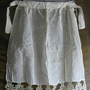 Early 1900s Handmade Lacey Apron