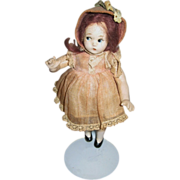 """MME Alexander 7"""" Tiny Betty Doll 1930s Composition"""