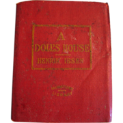 REDUCED Miniature Book 1920s Era A Doll's House