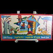 1950s Mickey Mouse Club Pencil Box Pencil Case