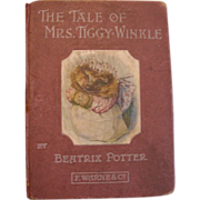 1905 The Tale of Mrs. Tiggy-Winkle by Beatrix Potter