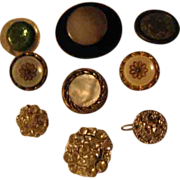 Vintage Buttons Wide Variety Styles Materials Sizes