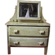 Wooden Dresser or Chest of Drawers Painted Toy Bedroom Furniture