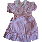 Vintage NOS Childs Pink Dress