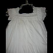 Lovely Antique Ladies Night Gown Victorian Era