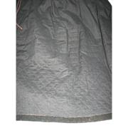 Antique Amish or Mennonite Quilted Petticoat from Lancaster Co Pa