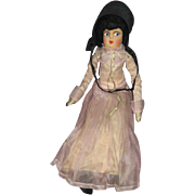REDUCED Amish or Mennonite Bed Doll or Sofa Doll Boudoir Type Cloth Doll