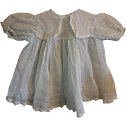 SALE Vintage Organdy Doll Dress for Composition Baby Doll