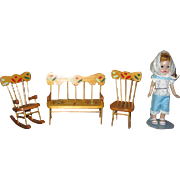SALE Ginny Doll Size Furniture from Lancaster Co Pa