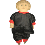 Early 1900s Printed Cloth Dolly