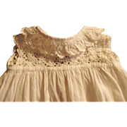 Long White Doll Gown with Lace Top Unusual Find