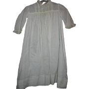 White baby Gown Early 1900s