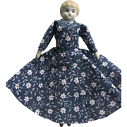 SALE Small China Head Doll Companion for Larger Doll