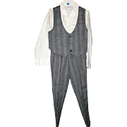Vintage Boys Size 7 Suit with Vest