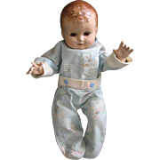 "Plassie Doll by Ideal 14"" Hard Plastic Baby Doll"