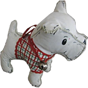 Vintage Toy Puppy Scottie Dog 1950s Era