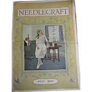 Needlecraft Magazine 1920 for The Ladies in July