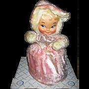Vintage Doll Rubber Faced Doll Pajama Bag