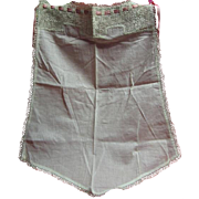 Herr Estate Handmade Apron with Lovely Lace