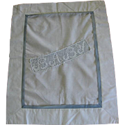 Baby Cover with Lace Insert for Stroller or Cradle