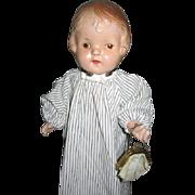 MIniature Vintage Doll Purse