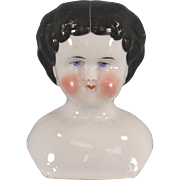 REDUCED China Doll Head c1860 Excellent Condition
