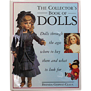 REDUCED Book: The Collector's Book of Dolls
