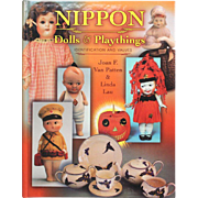 REDUCED Book:  Nippon Dolls & Playthings Identification and Values