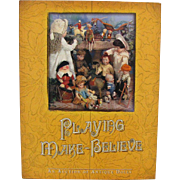 REDUCED Doll Reference Book Playing Make Believe German French Miniatures Asian Wooden Clothin