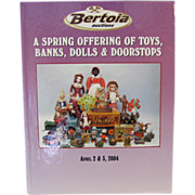 REDUCED Book: A Spring Offering of Toys, Banks, Dolls Doorstops