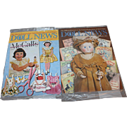 SALE UFDC Doll News Magazine 2015 Spring and Summer Issues