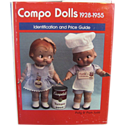 REDUCED Book: Compo Dolls Volume 1928 - 1955  Identification & Price Guide