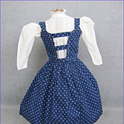REDUCED Early Doll Jumper and Blouse Treadle & Hand Stitched