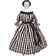 REDUCED China Dollhouse Doll 4.75 Inches Lovely Original Body