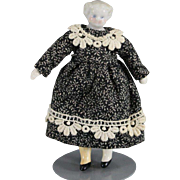 REDUCED Dollhouse Doll China Blond 3.5 Inches
