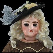 REDUCED Jumeau Fashion Doll Beautiful Brown Eyes
