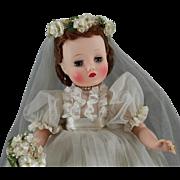 SALE Madame Alexander Elise Bride c1959