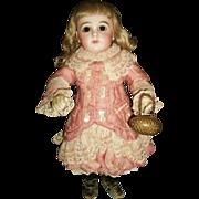 Little Antique Egg Shape French Fashion / Bebe Doll Purse