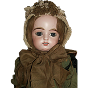Fabulous Antique Doll / Child Bonnet,  French or German