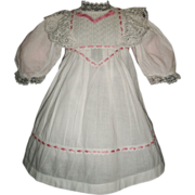 SOLD Sweet Vintage Doll Dress, Kestner, Handwerck