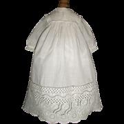 Wonderful Antique Doll Gown / Dress, Fabulous Border