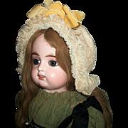 Wonderful Vintage Large Doll Bonnet