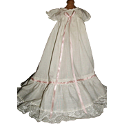 Pretty Baby Doll Gown, Lace and Ribbons