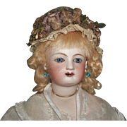 Nice Vintage Made French Fashion Doll Hat