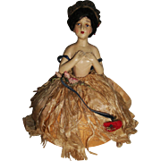Charming Vintage Pin Cushion Half Doll