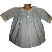 Sweet Early Pin Stripe Cotton Doll Dress