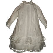 Fabulous Antique Dress, French or German Bebe